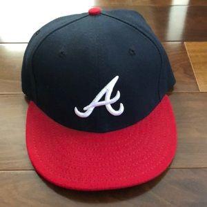 Atlanta Braves Official On-Field Baseball Cap